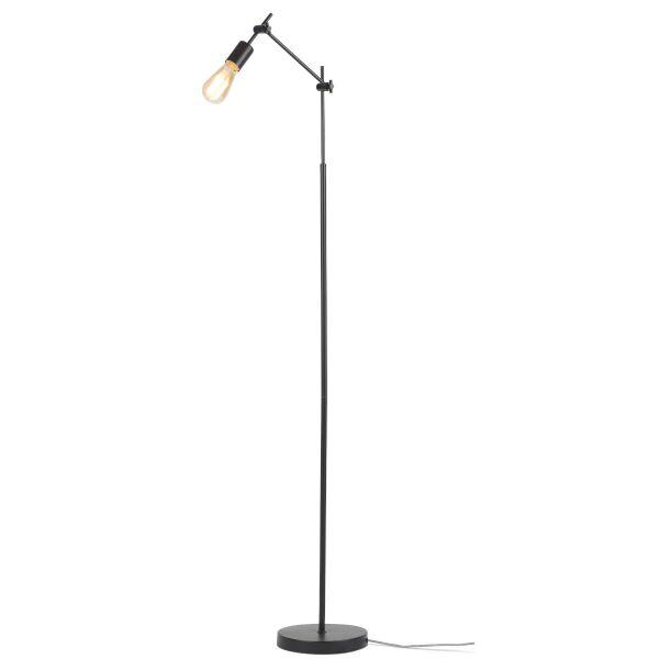 Stehlampe Sheffield schwarz