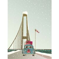 DRIVING HOME FOR CHRISTMAS Poster S (15 x 21 cm)