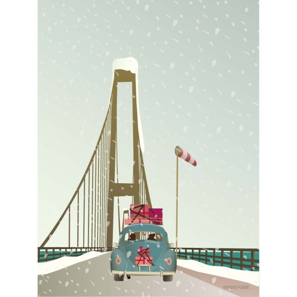 DRIVING HOME FOR CHRISTMAS Poster M (30 x 40 cm)