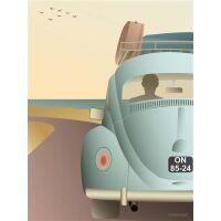 VW BEETLE Poster 15x21 cm