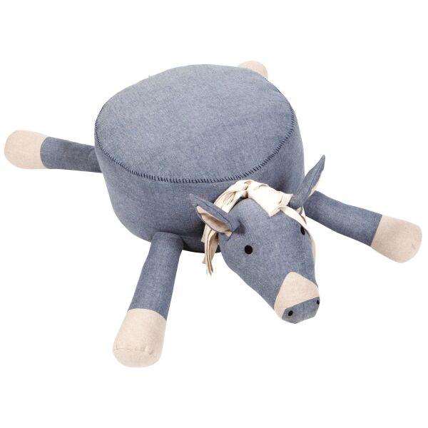 Sitzkissen HUGO Pferd blau