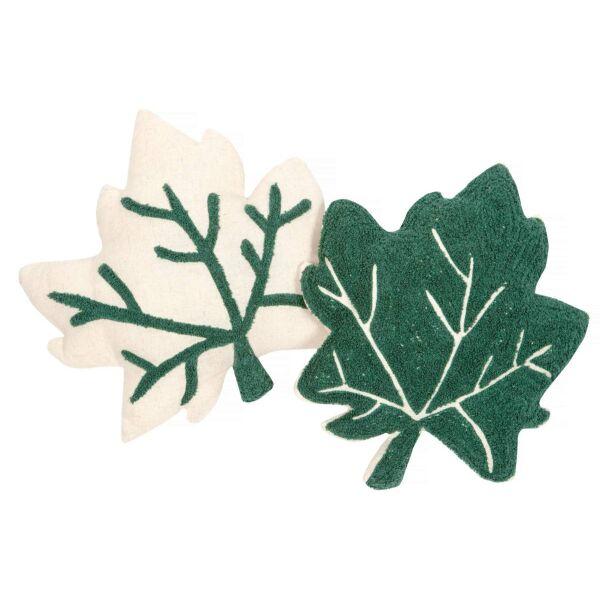 Kissen LITTLE FALL 2er Set grün