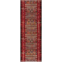 In- & Outdoor-Teppich Artis Multicolor/Rot 80x250 cm