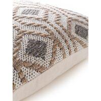 Kissenbezug Palma Taupe 50x50 cm