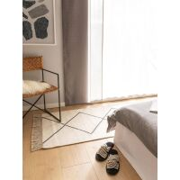 Handgewebter Kelim Vince Ivory 70x200 cm