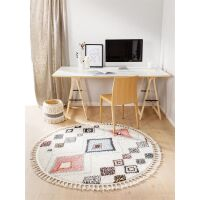 Teppich rund Bosse Multicolor ø 150 cm rund