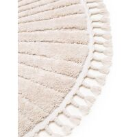 Kinderteppich Momo Cream ø 120 cm rund