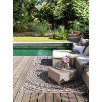 In- & Outdoor-Teppich Cleo Beige/Braun