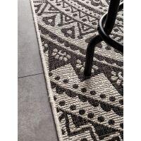 In- & Outdoor-Teppich Cleo Weiß/Schwarz