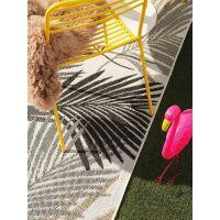 In- & Outdoor-Teppich Cleo Schwarz