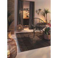 In- & Outdoor-Teppich Naoto Anthrazit 120x170 cm