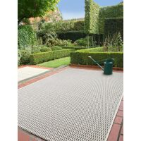 In- & Outdoor-Teppich Naoto Grau 80x150 cm