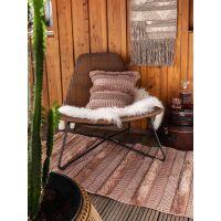 In- & Outdoor Kissenbezug Toni Bronze 45x45 cm