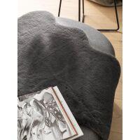 Kunstfell Dave Anthrazit 60x90 cm