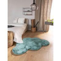 Kinderteppich Dave Wolke Blau 80x120 cm