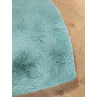 Kinderteppich Dave Herz Blau 100x100 cm