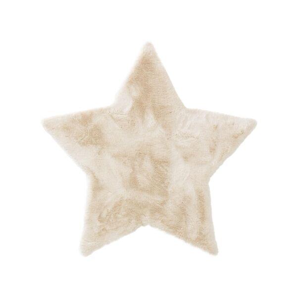 Kinderteppich Dave Stern Cream 100x100 cm