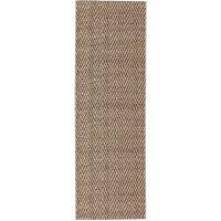 In- & Outdoor-Teppich Kenya Cream/Beige 80x250 cm