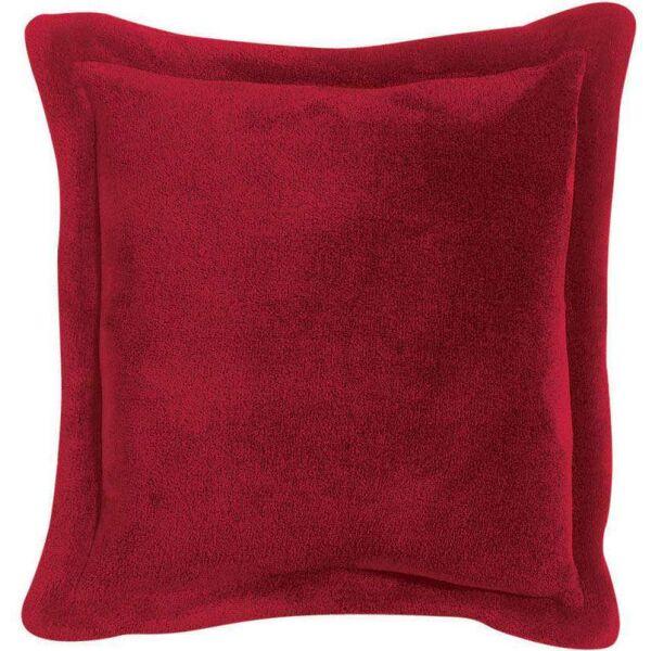 Kissen TENDER superweich 50x50 cm Rubinrot