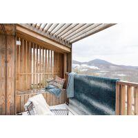 Bettüberwurf gesteppt MING 100% Baumwolle Aqua grün