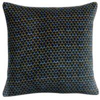 Kissen VERA aus Velours Tintenblau