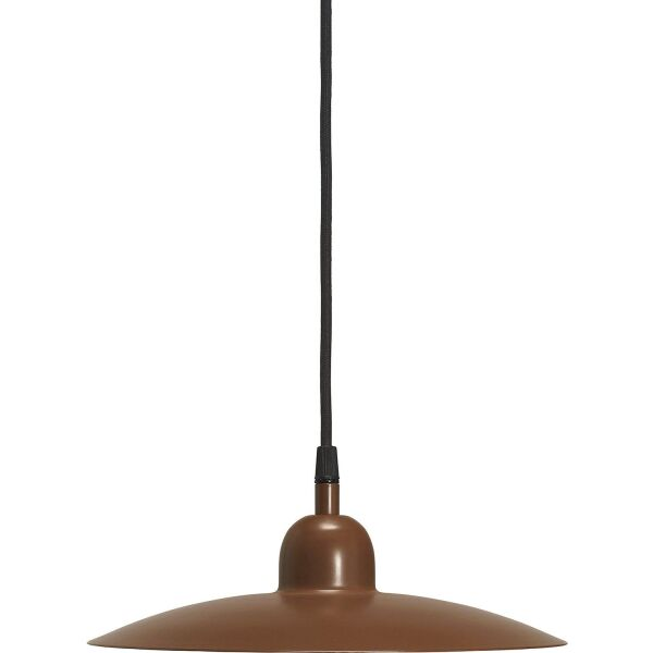 Fensterlampe COMO Rostbraun matt Ø28 cm