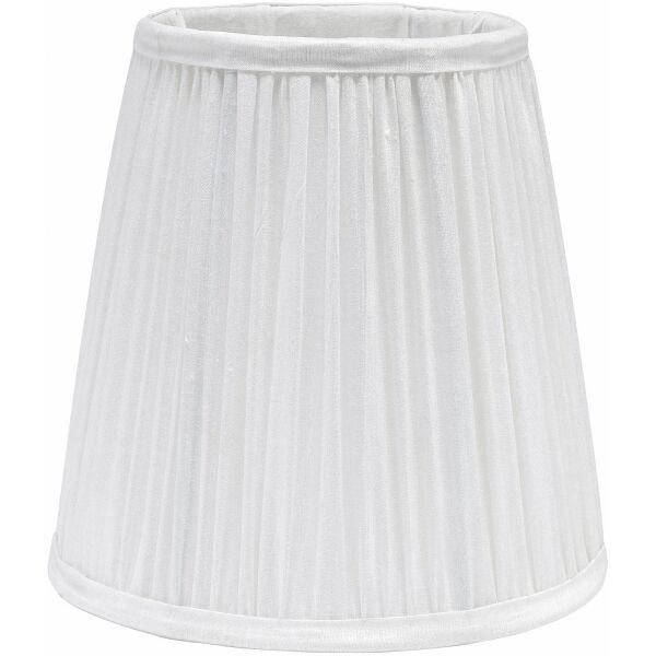 Lampenschirm STELLA ø20cm Plissé weiß