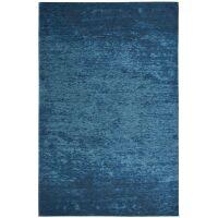 Flachgewebter Teppich CAMAIEU Tintenblau