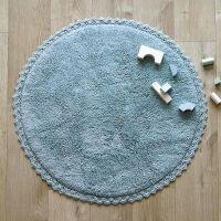 Kinderteppich rund PERLA Blau