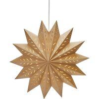 Papierstern Weihnachtsstern ALFA Star braun Ø60cm