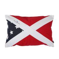 Kissenhülle Flag rot Maritim Stil