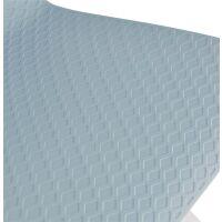 Barhocker SLADE Kunststoff Weiß/Hellblau
