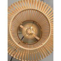 Stehlampe Tuvalu aus Bambus natural