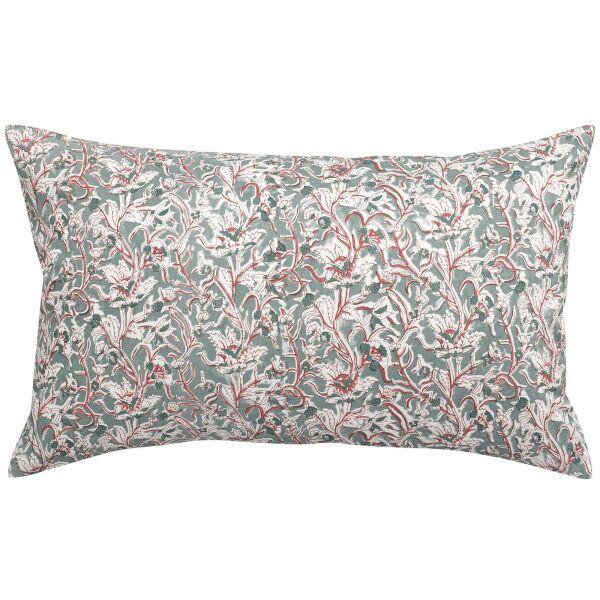 Kissen ROSALINE 40x65 cm 100% Baumwolle Ecume