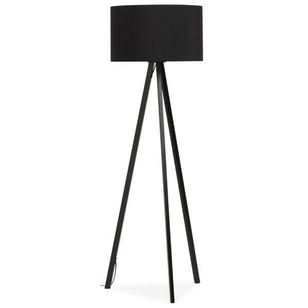 Stehlampe TRIVET schwarz-schwarz