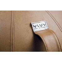 VLUV® VEEL Sitzball aus Kunstleder Ø 60-65 cm...