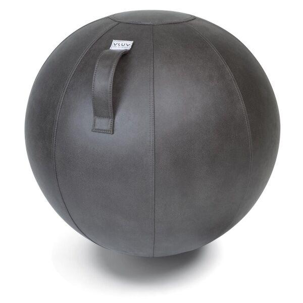 VLUV® VEEL Sitzball aus Kunstleder Elephant grau