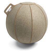 VLUV® VELT Sitzball aus Filz Ø 60-65 cm Greige...