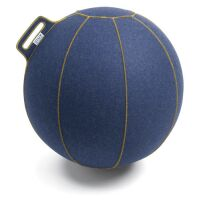 VLUV® VELT Sitzball aus Filz Ø 60-65 cm Jeans...