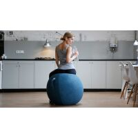 VLUV® STOV Stoff-Sitzball Concrete Ø 50-55 cm