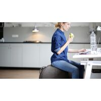 VLUV® STOV Stoff-Sitzball Concrete Ø 60-65 cm