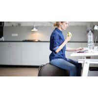 VLUV® STOV Stoff-Sitzball Anthrazit Ø 70-75 cm