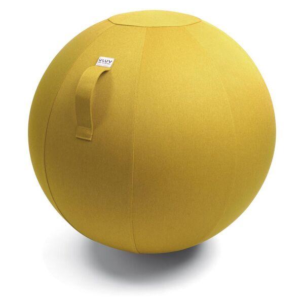 VLUV® LEIV Stoff-Sitzball Canvas Ø 70-75 cm Mustard