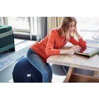 VLUV® LEIV Stoff-Sitzball Canvas Ø 70-75 cm Ruby