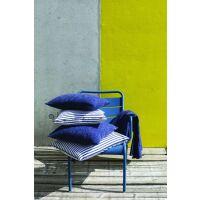 Kissen Apala gestreift 100% Baumwolle Encre 45 x 45 cm