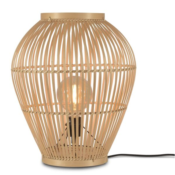 Stehlampe Tuvalu aus Bambus natural S (50 cm)