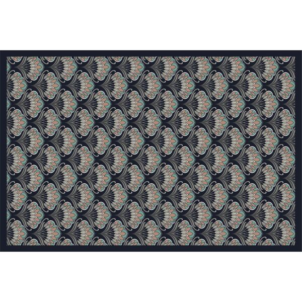 Vinyl Teppich MATTEO Art Nouveau 6 40 x 60 cm