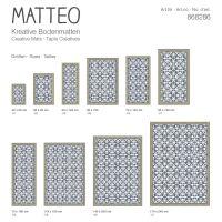 Vinyl Teppich MATTEO Art Nouveau 7 50 x 120 cm
