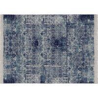 Vinyl Teppich MATTEO Used Rug Blue 170 x 240 cm