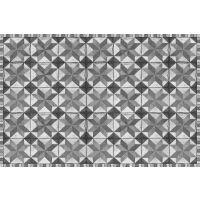 Vinyl Teppich MATTEO Tiles Used Style Grey 90 x 135 cm